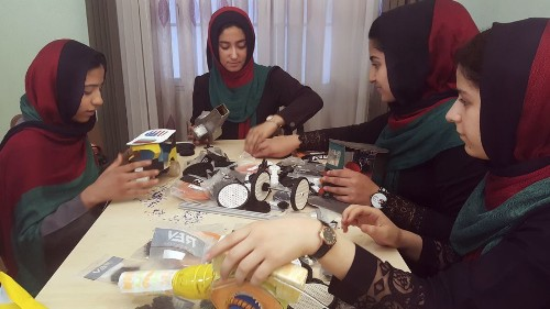 The Afghan girls robotics team will now be allowed into the U.S.