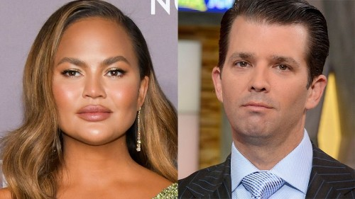 Chrissy Teigen calls out Donald Trump Jr.'s suspiciously amazing book sales