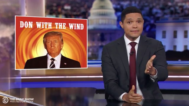 Trevor Noah unpacks Trump's ridiculous response to Hurricane Dorian