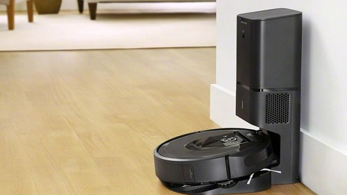 The Roomba i7+ empties its own dust bin and is $150 off at Amazon