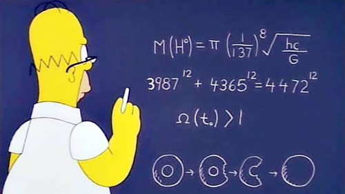 Homer Simpson almost discovered the Higgs boson before any scientist