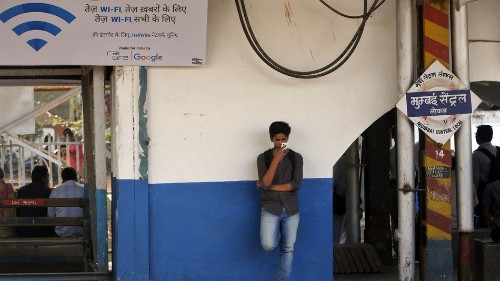 1.5 million people access the Internet via Google's free Wi-Fi at 19 Indian railway stations