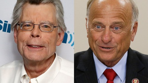 Stephen King really, really, really wants you to know he's not Steve King