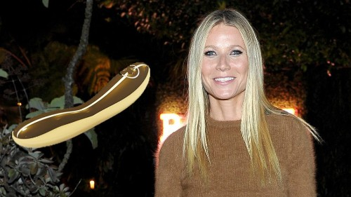 Gwyneth Paltrow assumes you have $15,000 for a gold sex toy