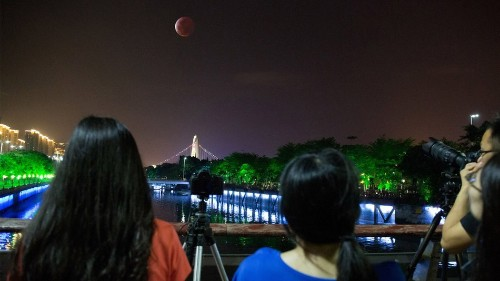 How to watch Sunday's rare supermoon lunar eclipse