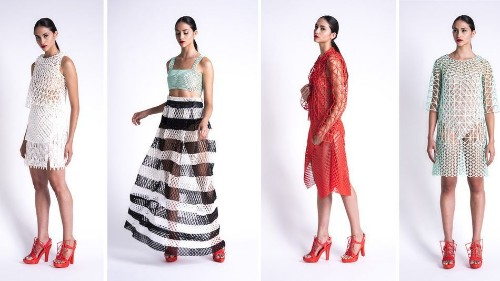3D-printed clothing collection took student 2,000 hours to produce