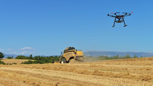 The future of farming: Drones, robots and GPS