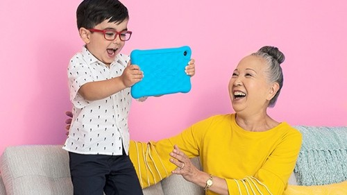 Amazon's Fire HD 8 Kids Edition tablets are on sale for $40 off
