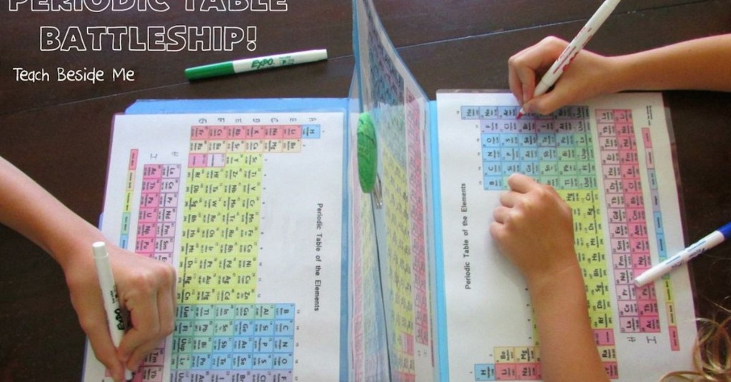 Queens of Moms makes Periodic Table of the Elements Battleship