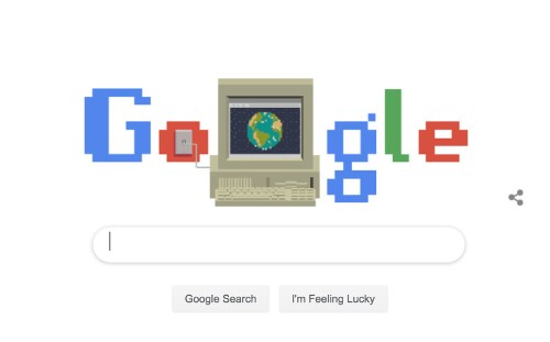 How Google Celebrated the Birth of the World Wide Web