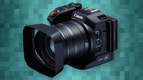 Canon's compact XC10 does high-quality 4K video recording for $2,500