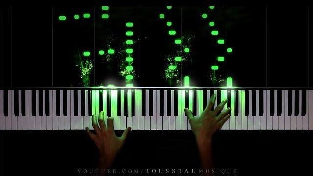 YouTuber performs mesmerizing rendition of Mozart using vibrant colors