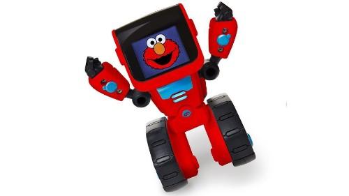 Super cute little Elmo robot wants to teach kids to code