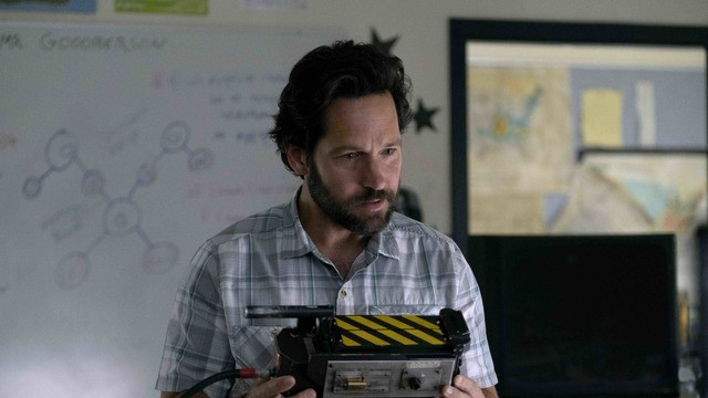 Our first look at 'Ghostbusters: Afterlife' shows a ghost-loving Paul Rudd