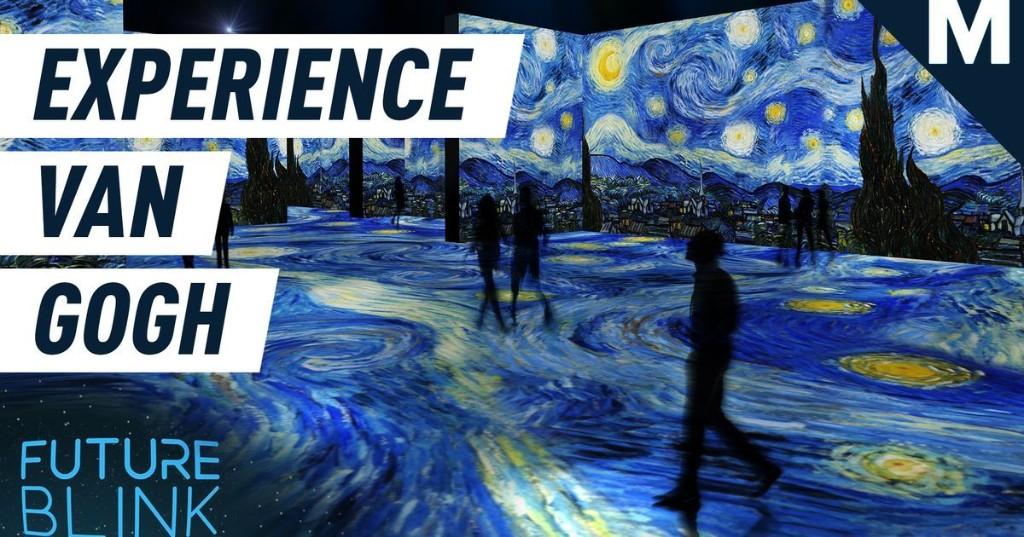 Walk through Vincent van Gogh's masterpieces at this immersive exhibit