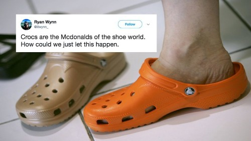 The Croc-pocalypse may be upon us and people have mixed feelings about it