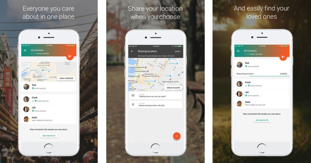 Google's app that helps loved ones find you in an emergency is now on iOS