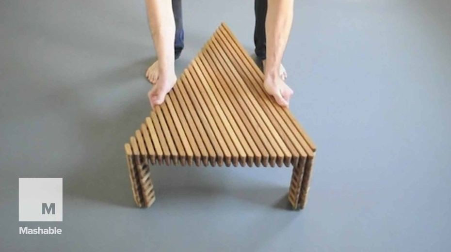 This shapeshifting furniture puts a new spin on interior design