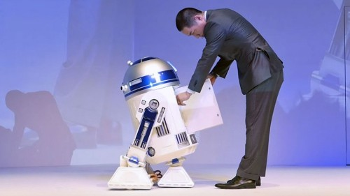 Life-size moving R2-D2 fridge has an unearthly price tag