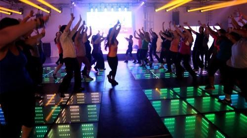 Kinetic Floor Generates Energy From People Dancing
