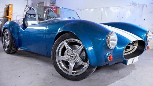 For Shelby Cobra roadster's 50th, designers 3D print a working replica