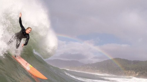 Women's big-wave surfing makes a splash with WickrX Super Sessions