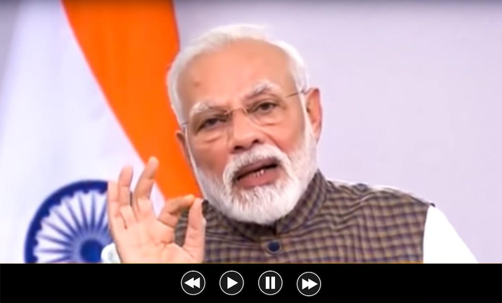 PM Narendra Modi To Address The Nation Again Tomorrow Via A Short Video