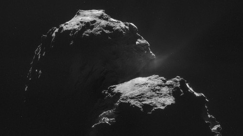 Rosetta spacecraft records eerie 'song' coming off comet