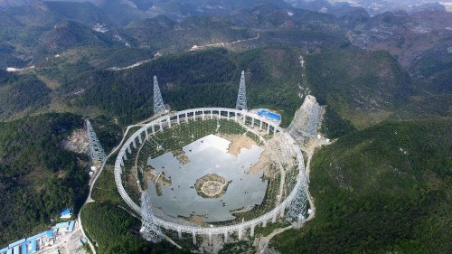 China uprooting thousands to build telescope searching for aliens