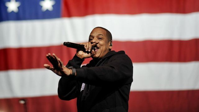 Barack Obama paid tribute to Jay-Z during the Songwriters Hall of Fame induction