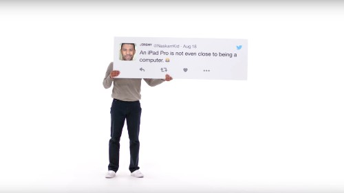 Apple responds to people's tweets with entire commercials