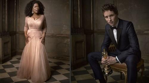 20 striking portraits from the Vanity Fair Oscar Party