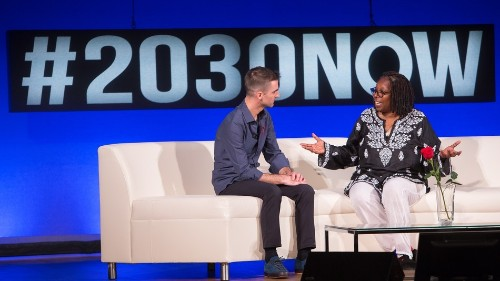 Get your tickets to the 2018 Social Good Summit