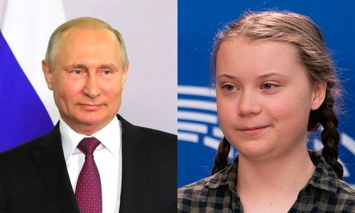 After Sassing Trump, Greta Thunberg Changes Twitter Bio Again To Mock Vladimir Putin