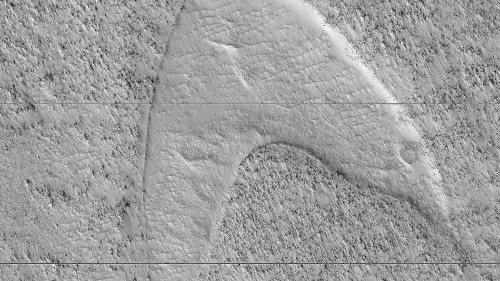 NASA spots a telltale 'Star Trek' sign on Mars