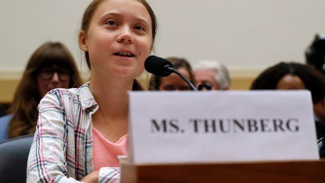Greta Thunberg masterfully pulls apart congressman's argument on climate change