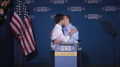 Sorry haters, but Pete Buttigieg's kiss with husband Chasten was a radical moment