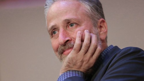 Jon Stewart helped rescue 2 adorable goats because he's a big hero