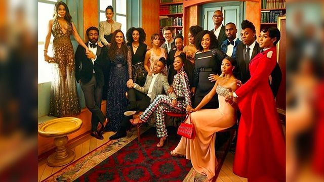 All of your favorite black luminaries assembled for one powerful post-Oscars pic