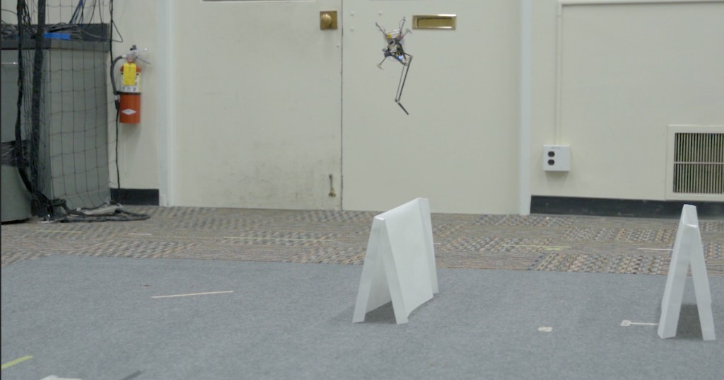 This teeny robot leaps like a frog, but lands like a world-class gymnast