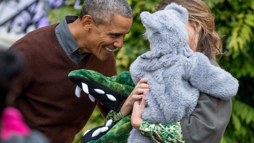 #ObamaAndKids is the most adorable way to remember a president