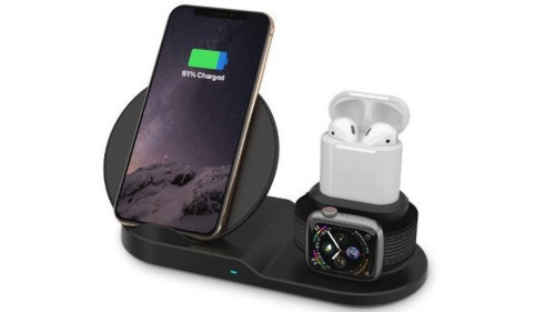 Save $65 on this wireless charging station for your iPhone, AirPods, and Apple Watch