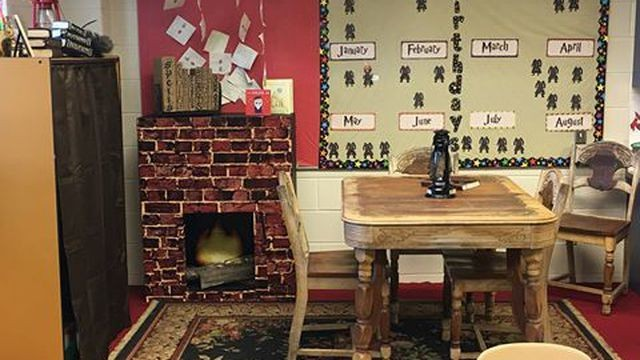This 'Harry Potter'-themed classroom has us wanting to be in third grade again