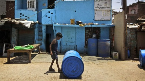 Families in developing nations are paying more than half their income for water