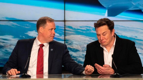 NASA paid $5 million for SpaceX employee training after Elon Musk smoked weed with Joe Rogan