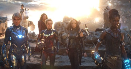 Captain Marvel and the Women Of MCU Are Ready For an All-Female Superhero Movie!
