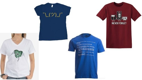 The best T-shirt gifts for the true tech geek in your life