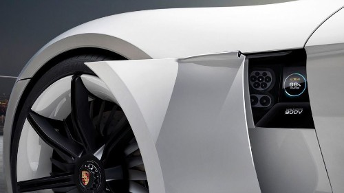 Porsche's first electric sports car, Mission E, will charge 250 miles in 15 minutes
