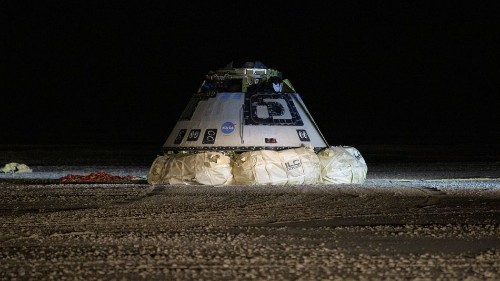 Boeing's Starliner didn't reach the ISS, but it made a historic safe landing