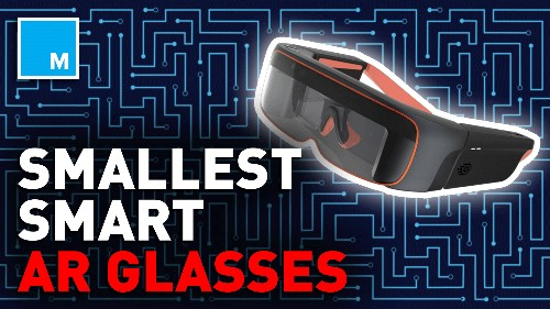 These tiny MR glasses are perfect for any hands-on activity — Future Blink